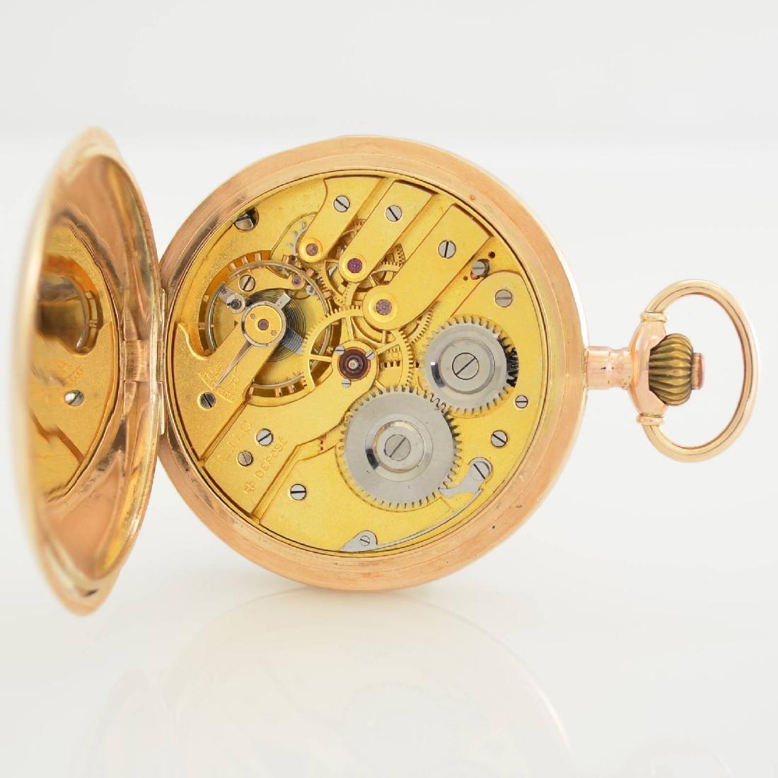 L.U.C. Chopard 14k pink gold pocket watch - 8
