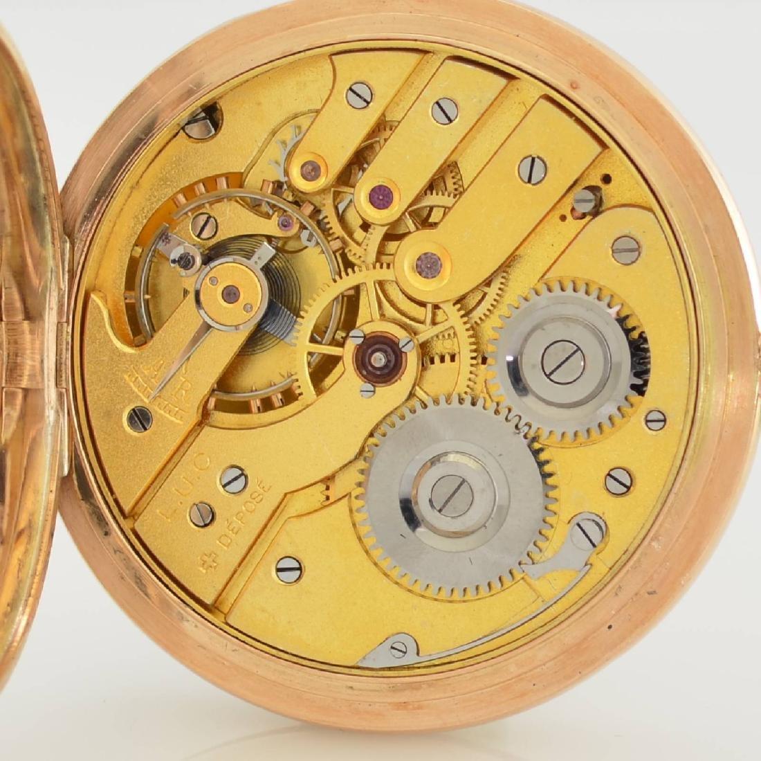 L.U.C. Chopard 14k pink gold pocket watch - 9