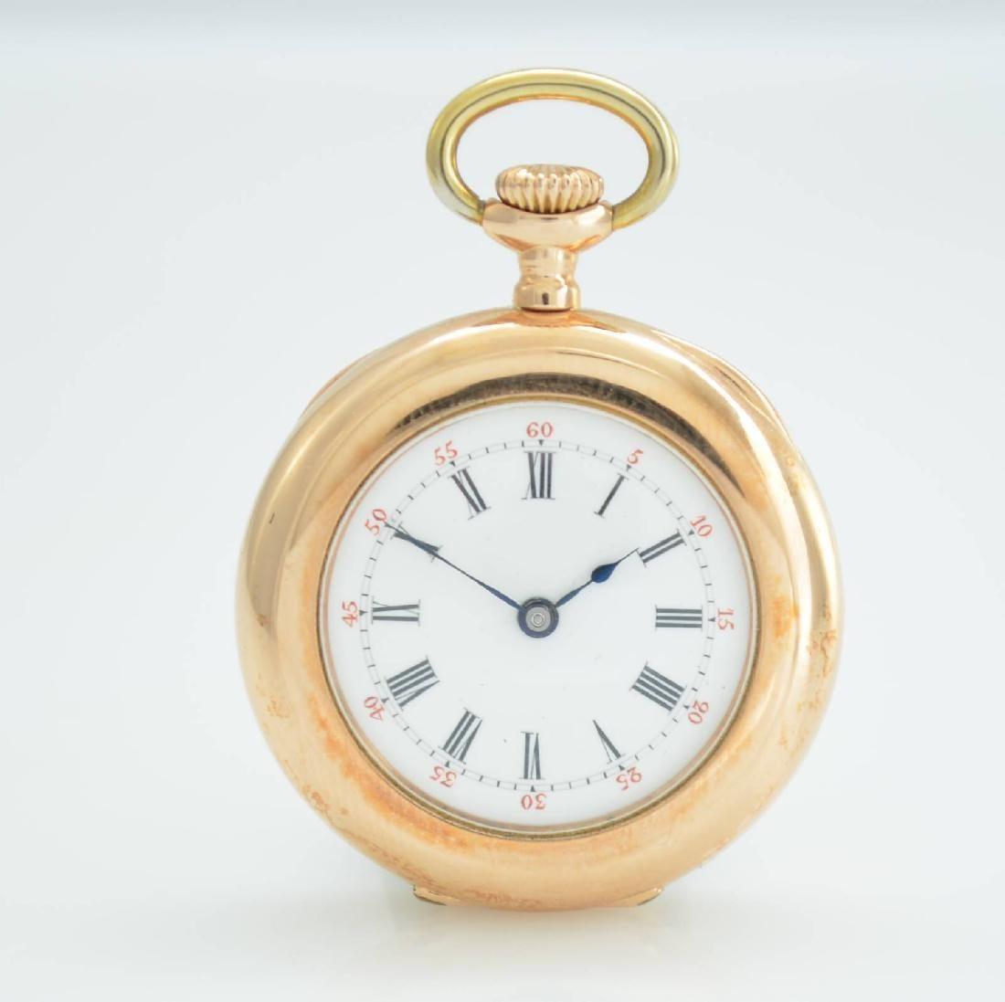 PATEK PHILIPPE & CO rare 18k gold ladies pocket watch