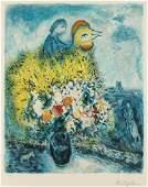 Marc Chagall, 1887-1985, Le coq avec le bouquet