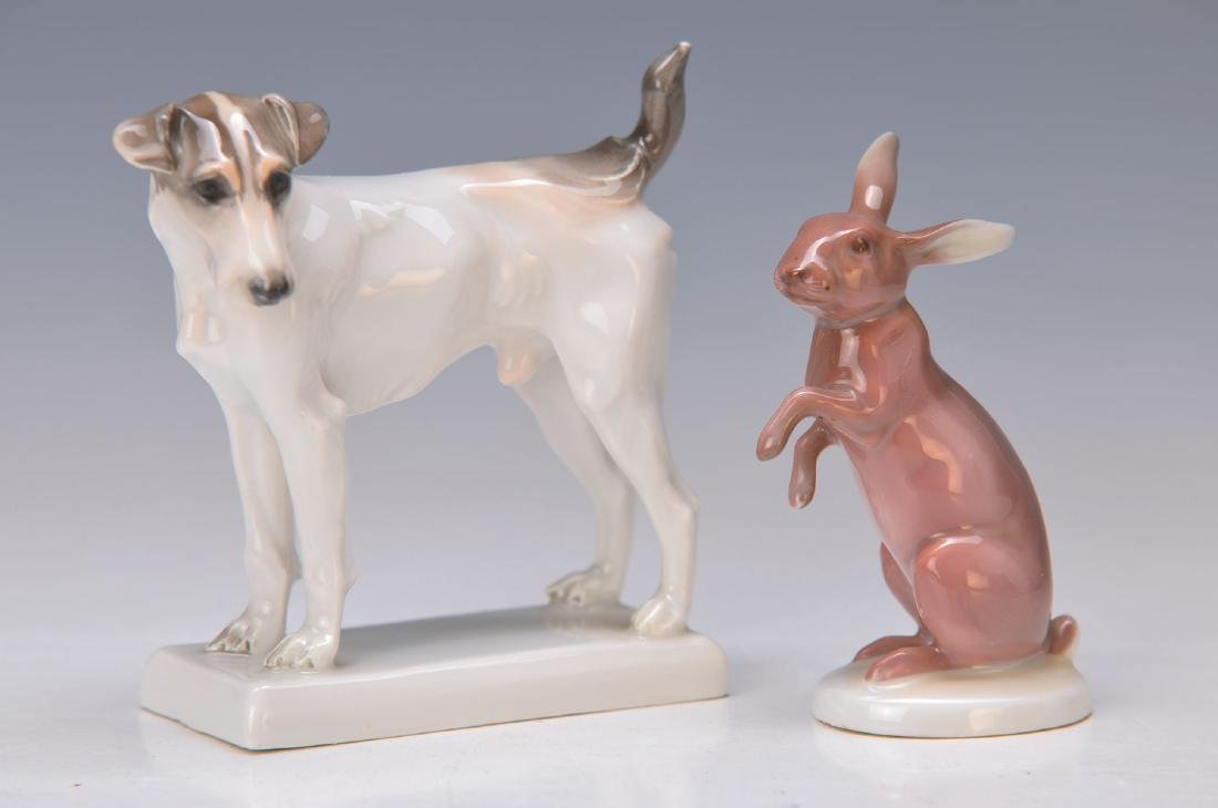2 figurines, Rosenthal