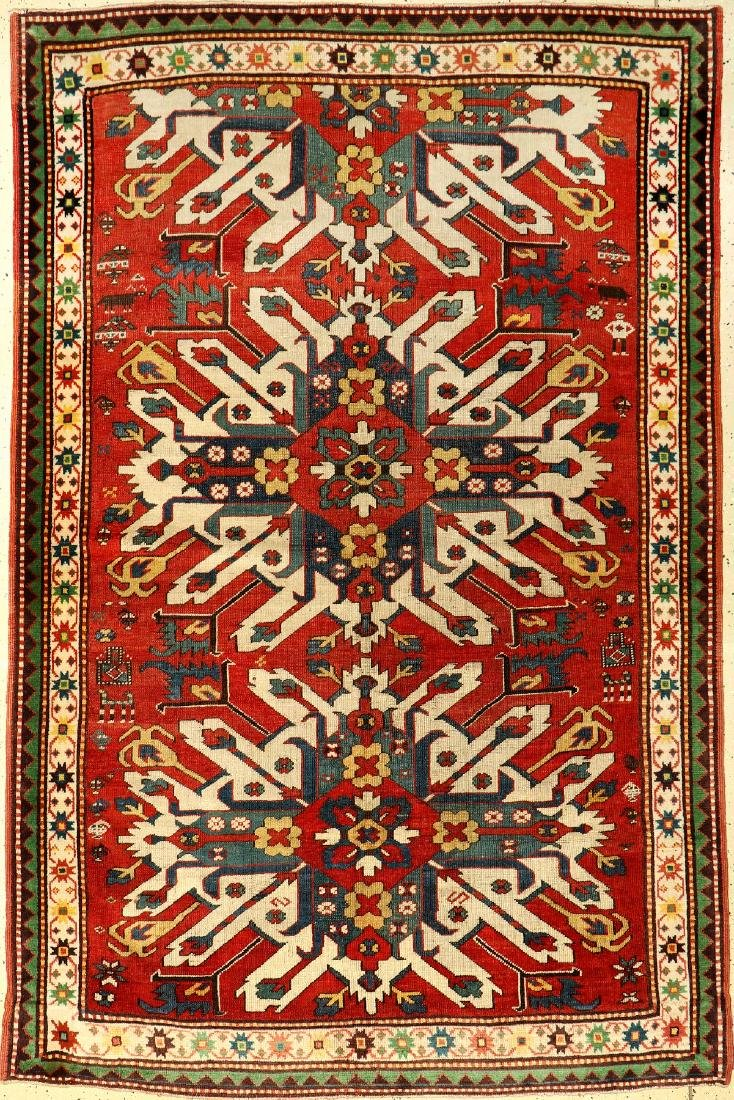 Chelaberd Kazak Rug (Eagle Kazak),