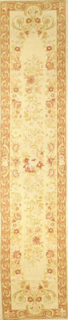Chinese Aubosson 'Runner' (Flatweave),