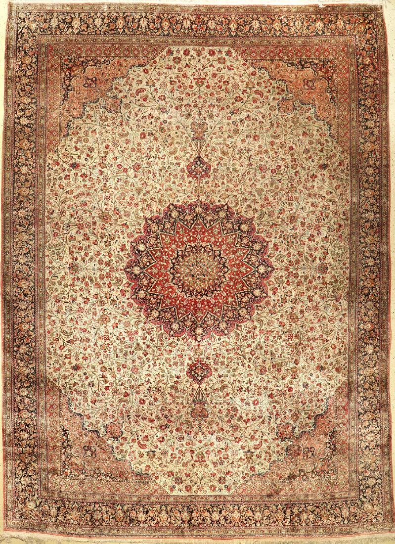 Silk Qum Carpet,