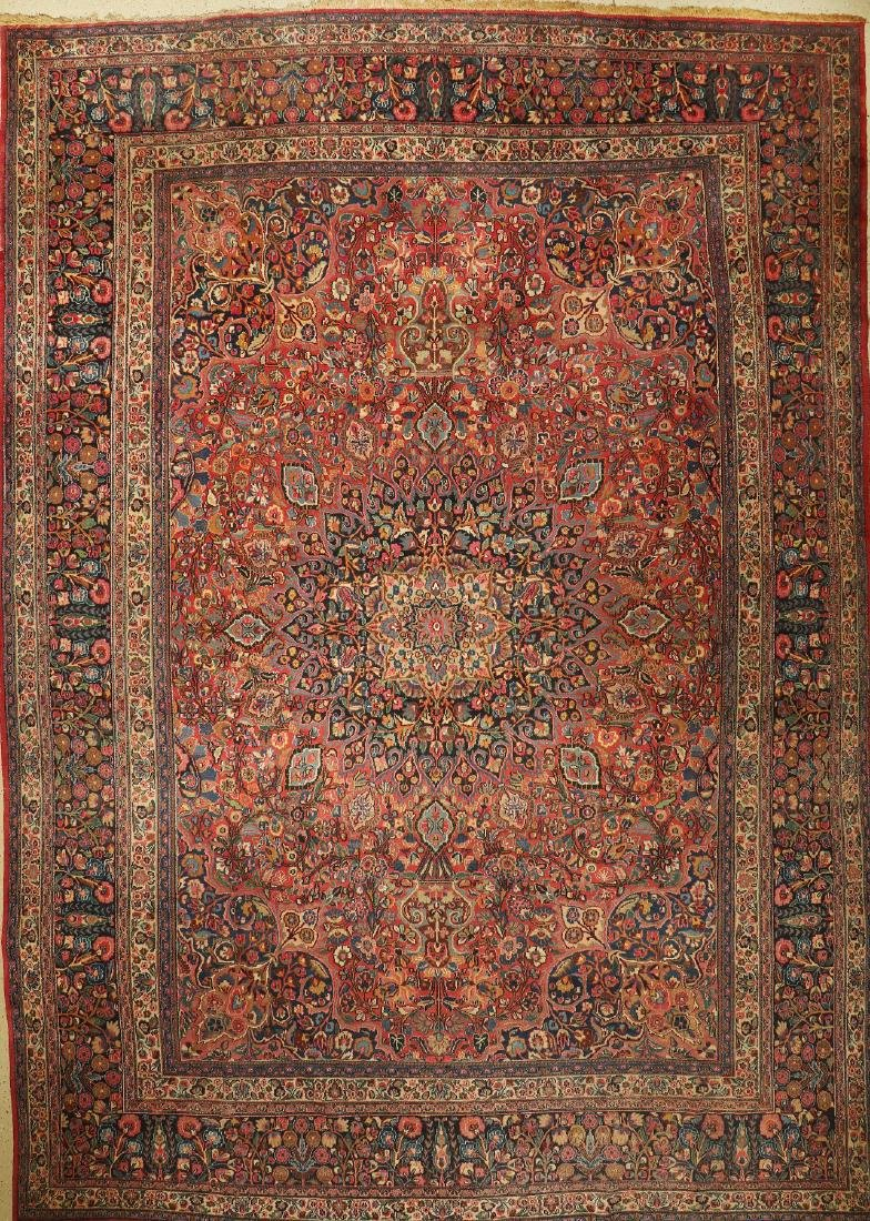 Large Mashad Carpet,