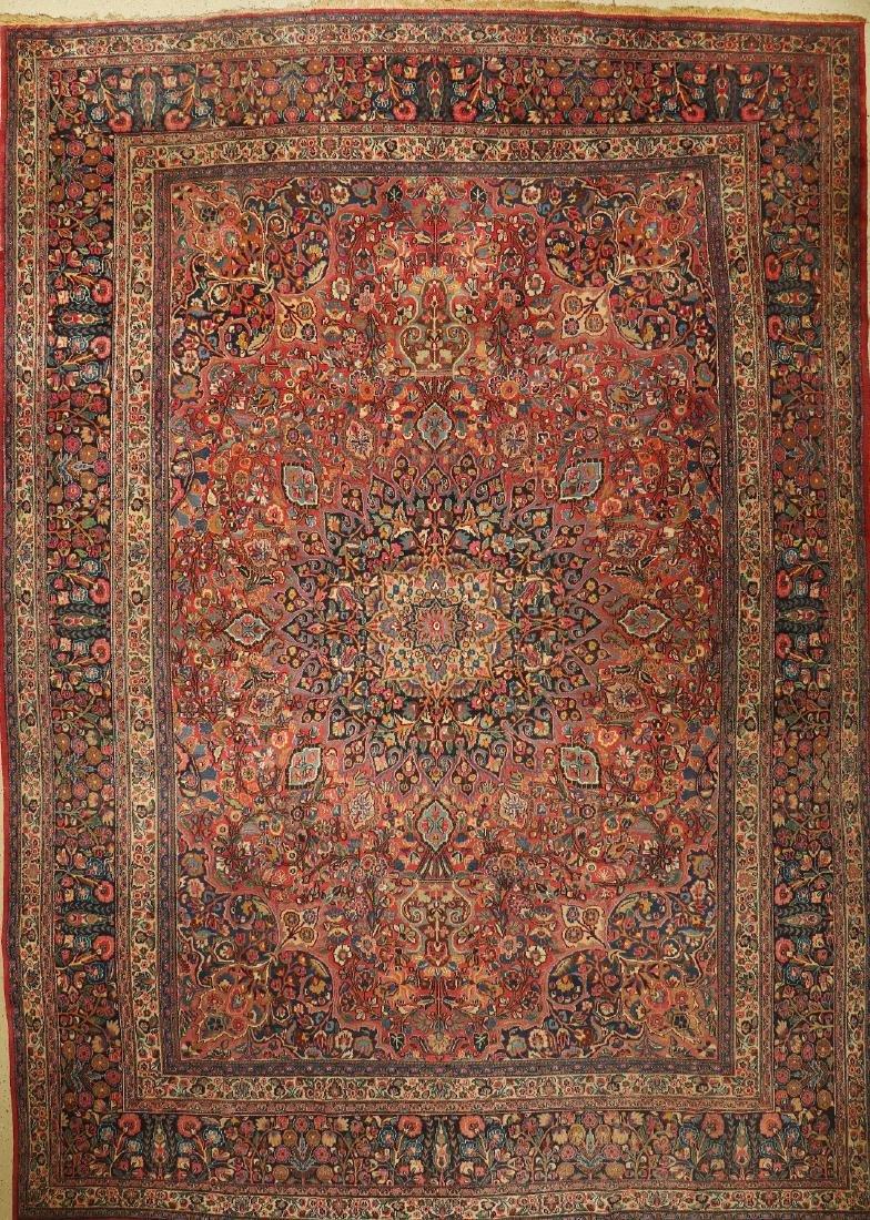 Large Mashad Carpet,