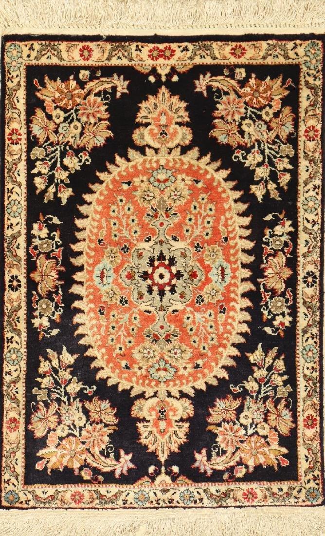 Fine Silk Qum 'Pushti-Rug',