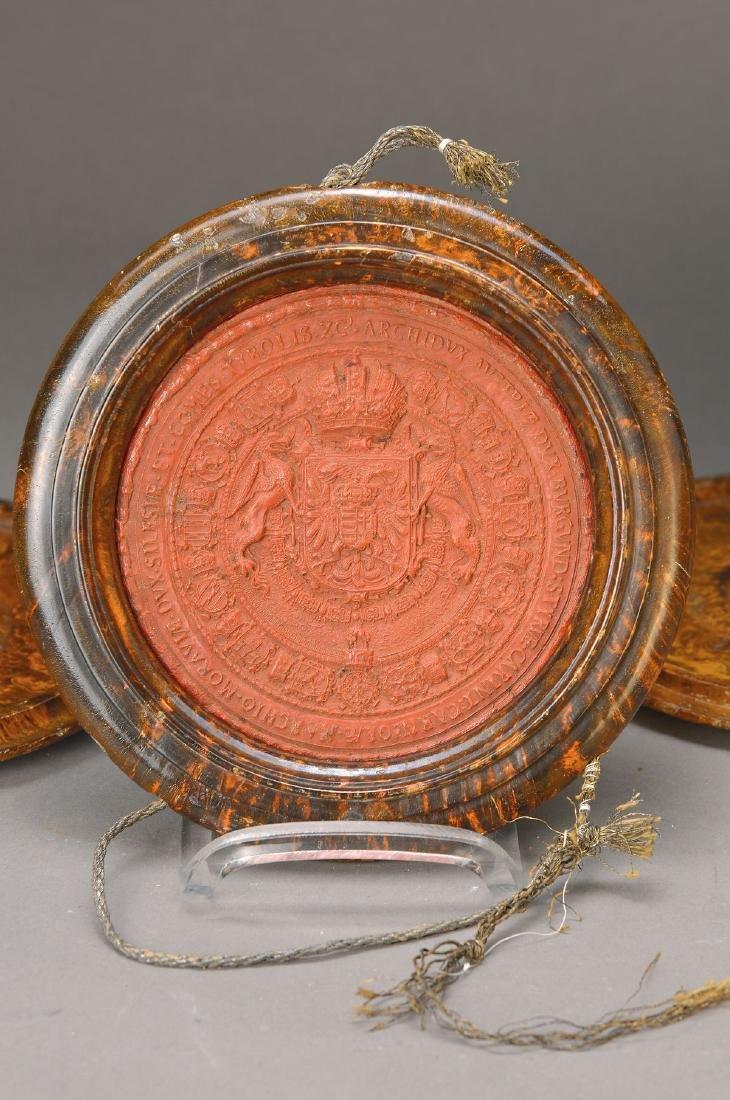 Wax seal, Emperor Leopold