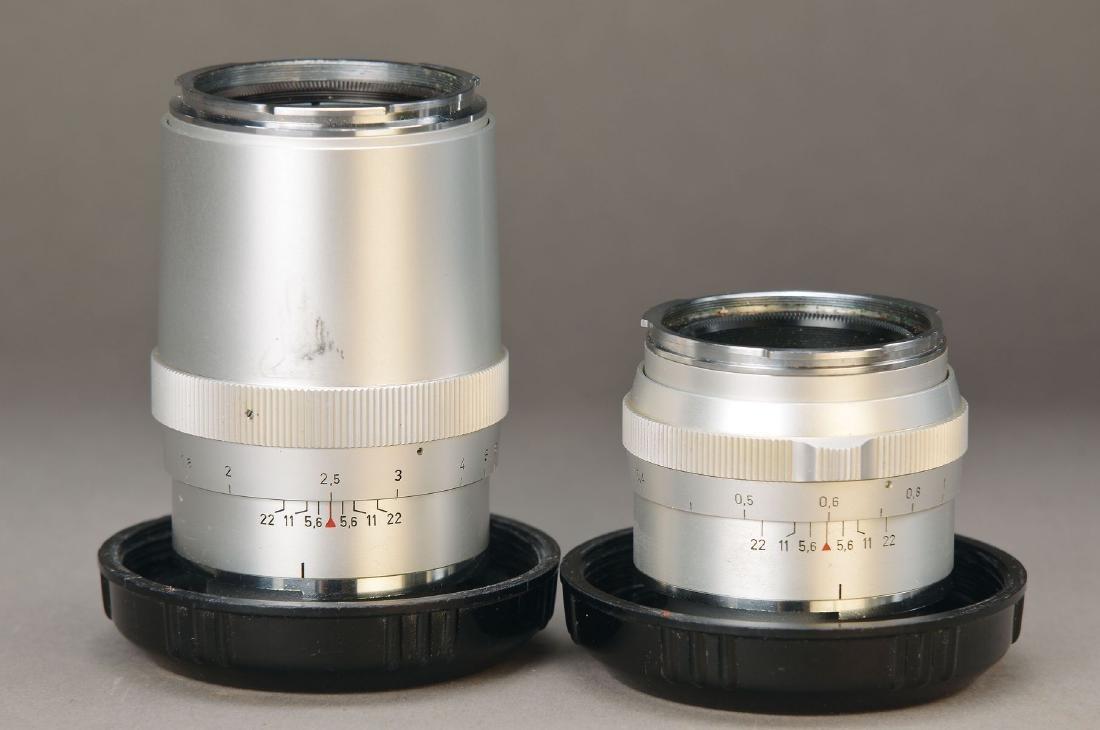 2 lenses Carl Zeiss