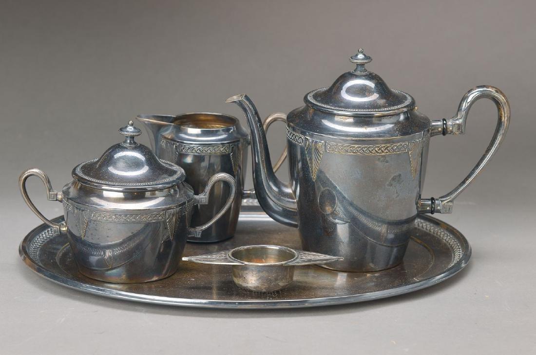 tea-Set, German, WMF