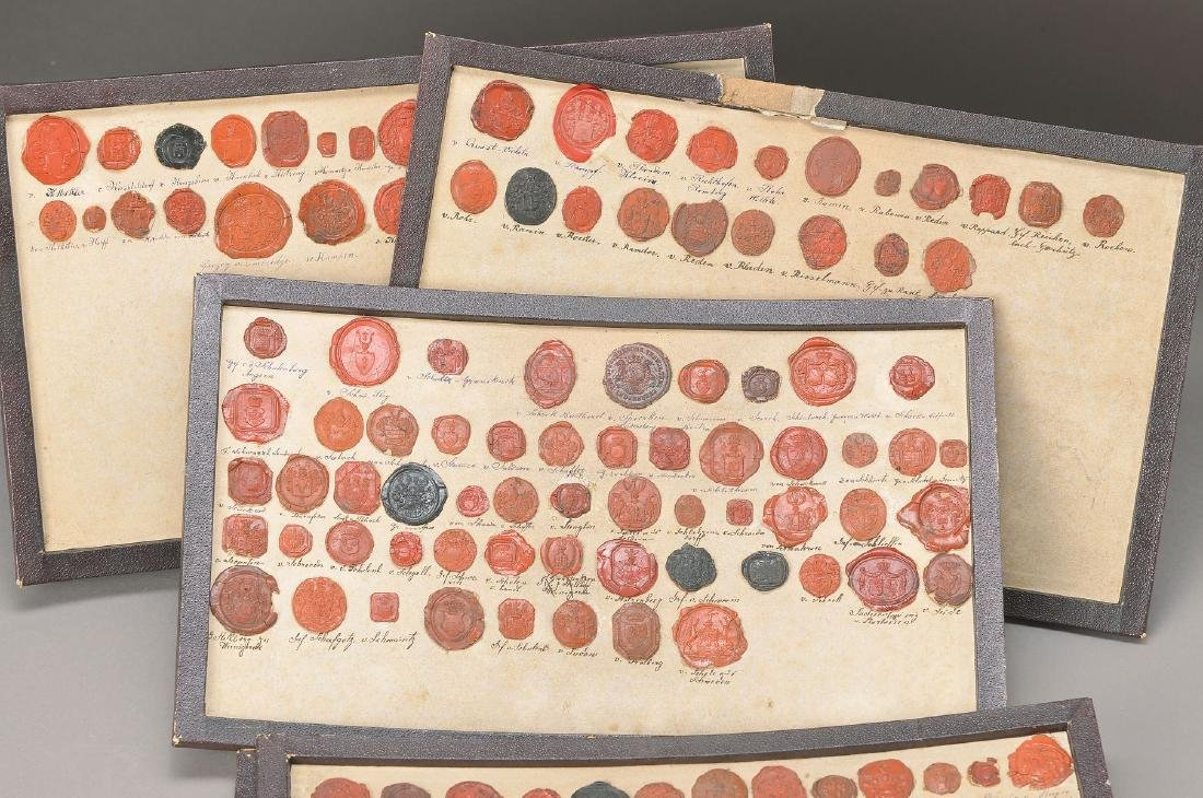 collection of Wax seals