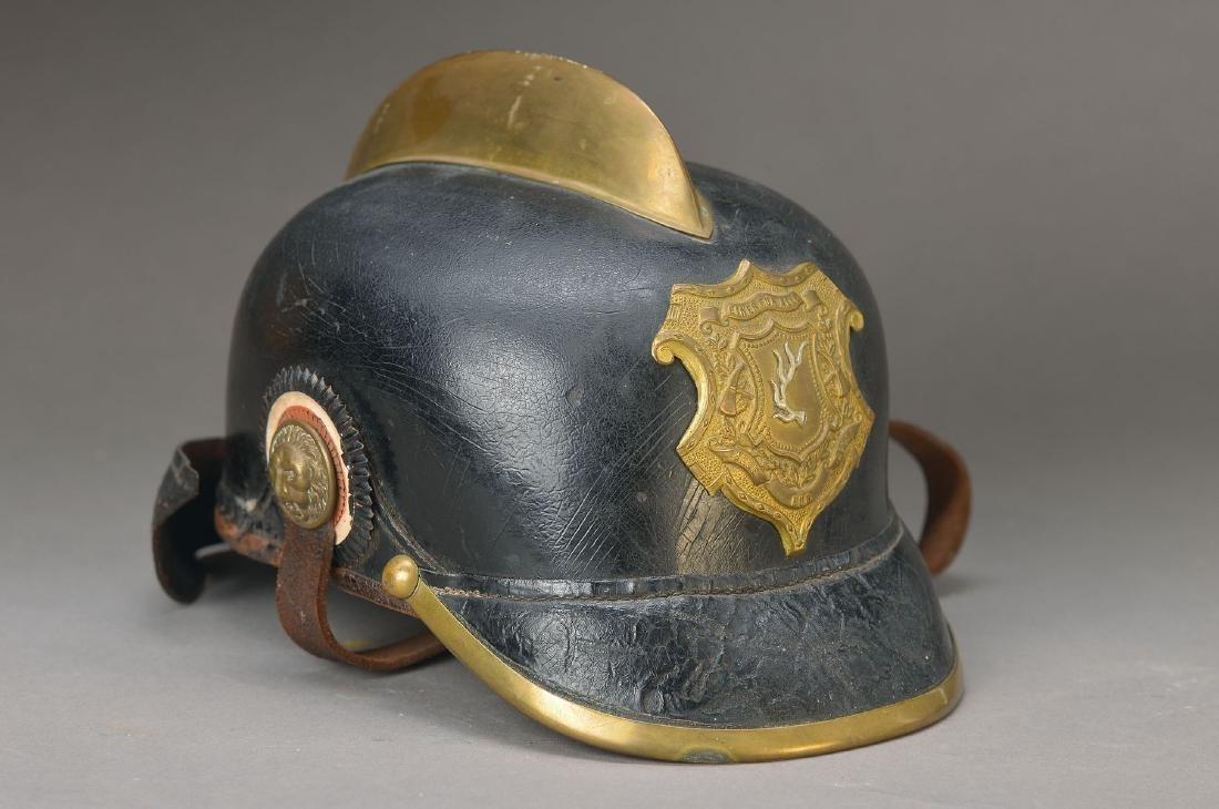 Fire helmet, german