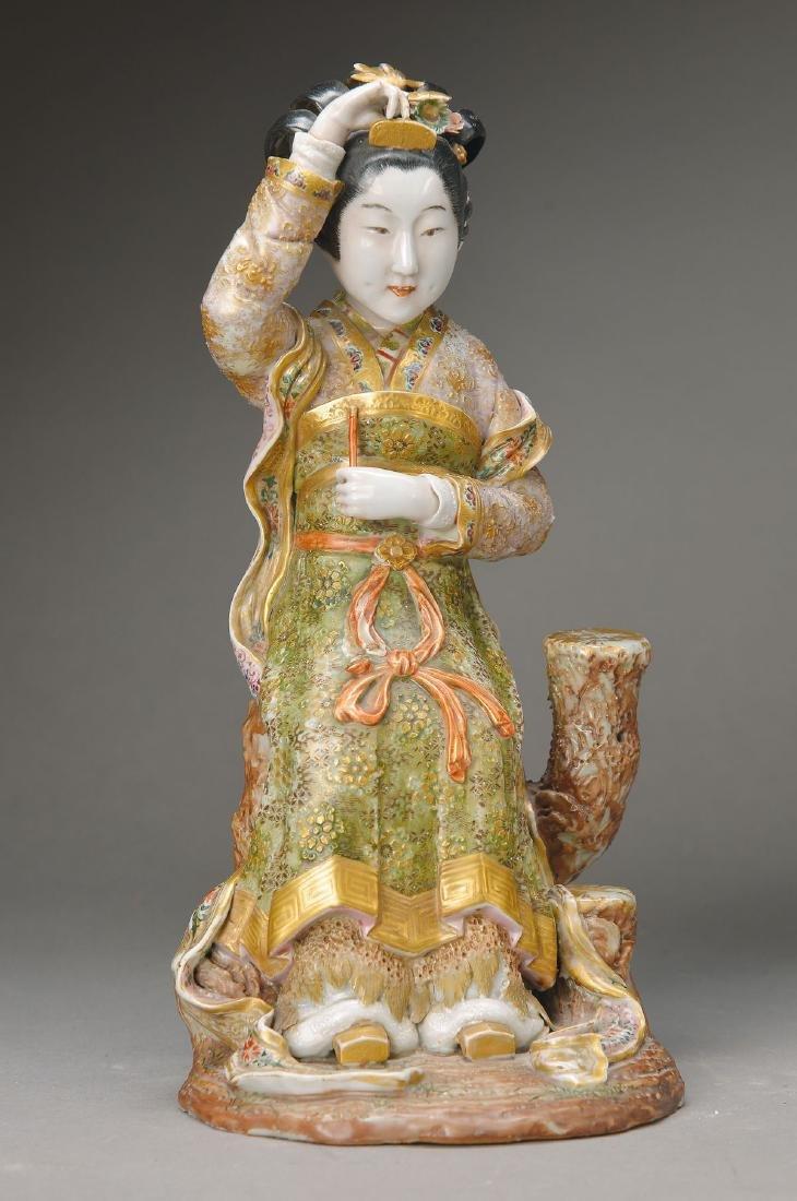 figurine of a Geisha