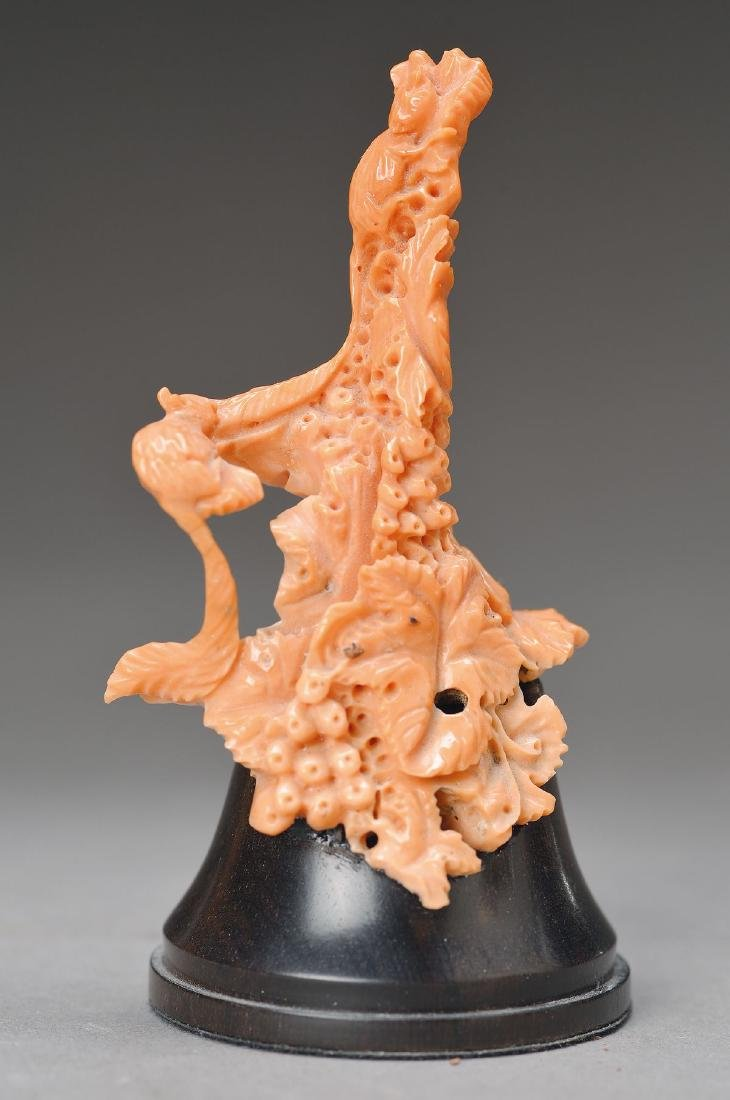 coral carving
