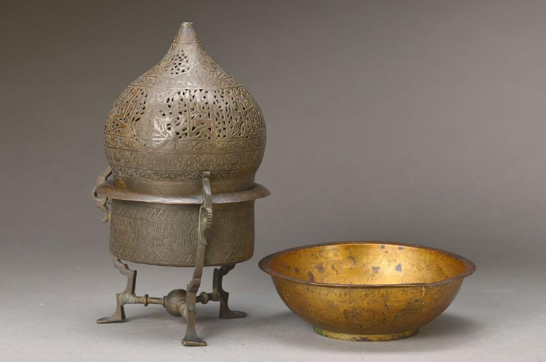 Censer and Omphalos-bowl