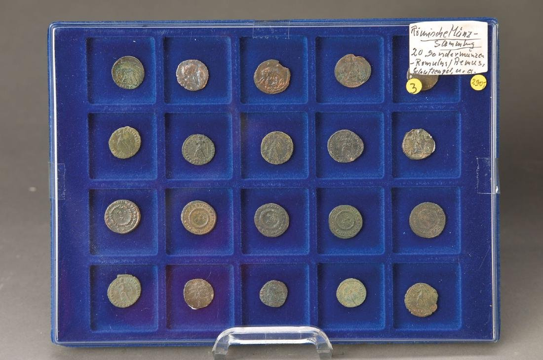 20 roman commemorative coins