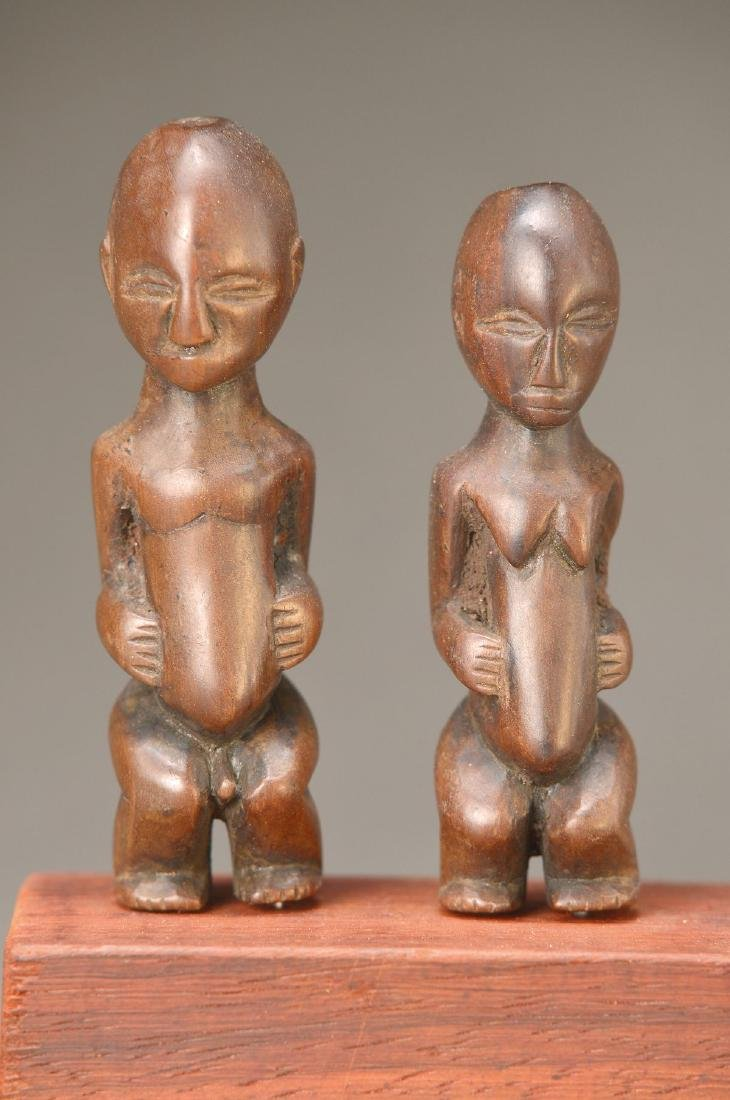 two Sculptures
