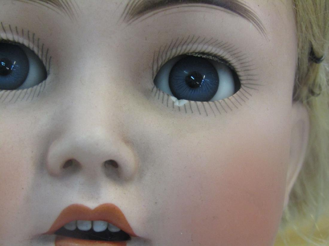 doll with porcelain head - 2