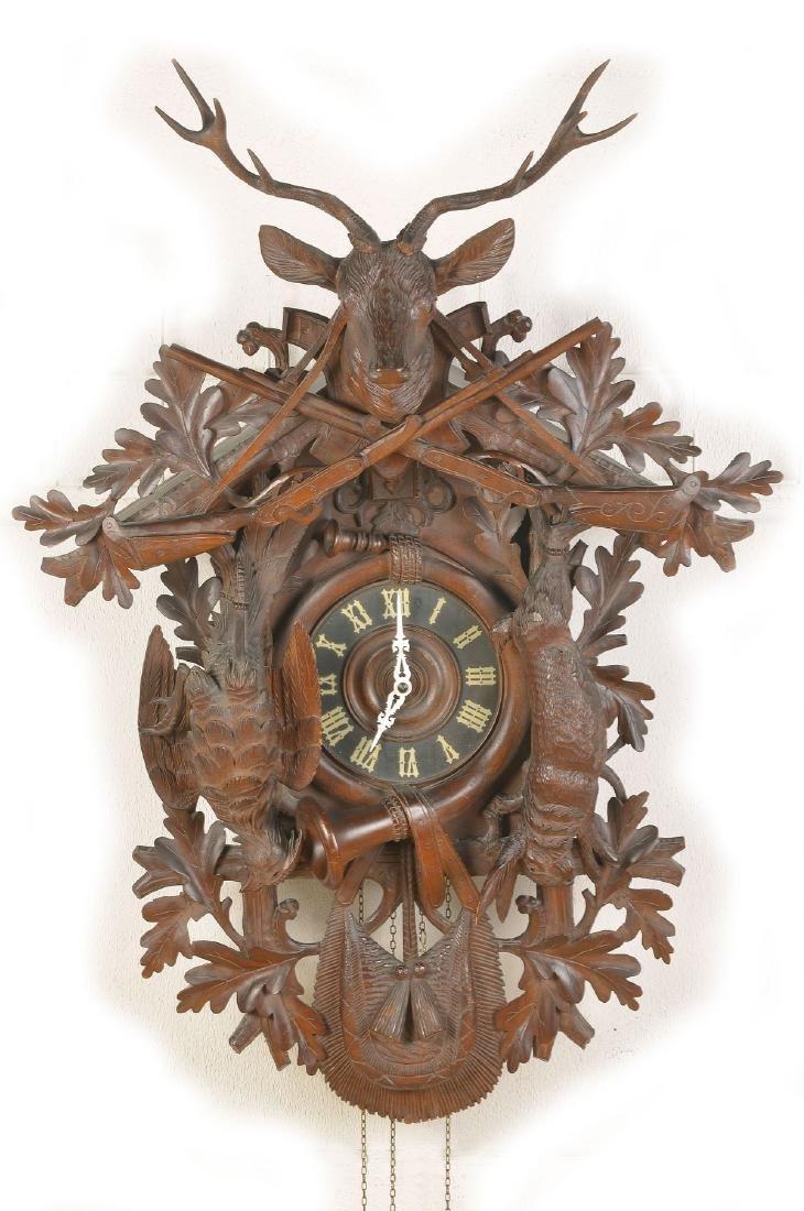 oversized cuckoo clock
