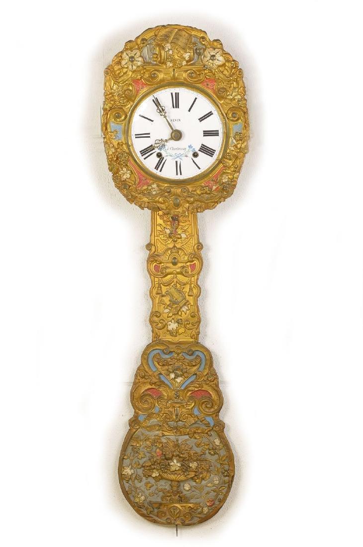 Comtoise with Pompous pendulum