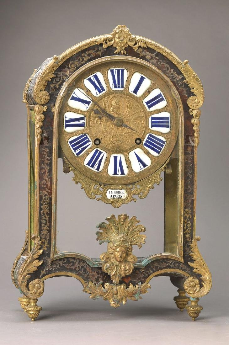 Boulle-clock