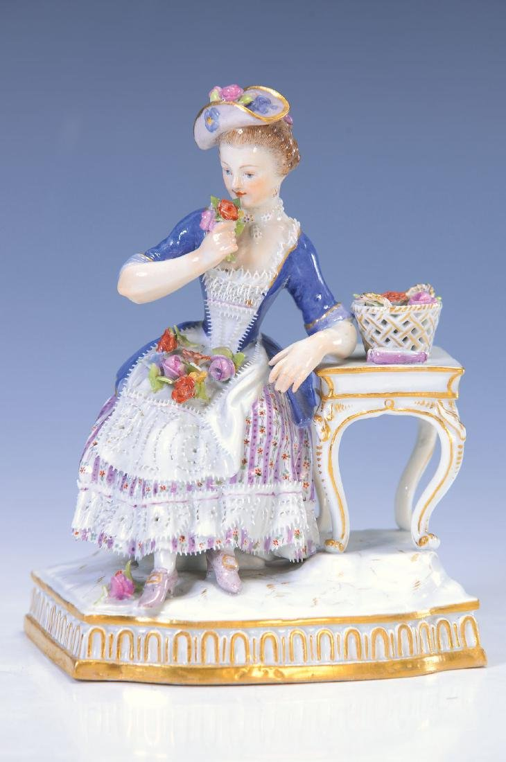 figurine, Meissen, around 1880, The odour, allegory on