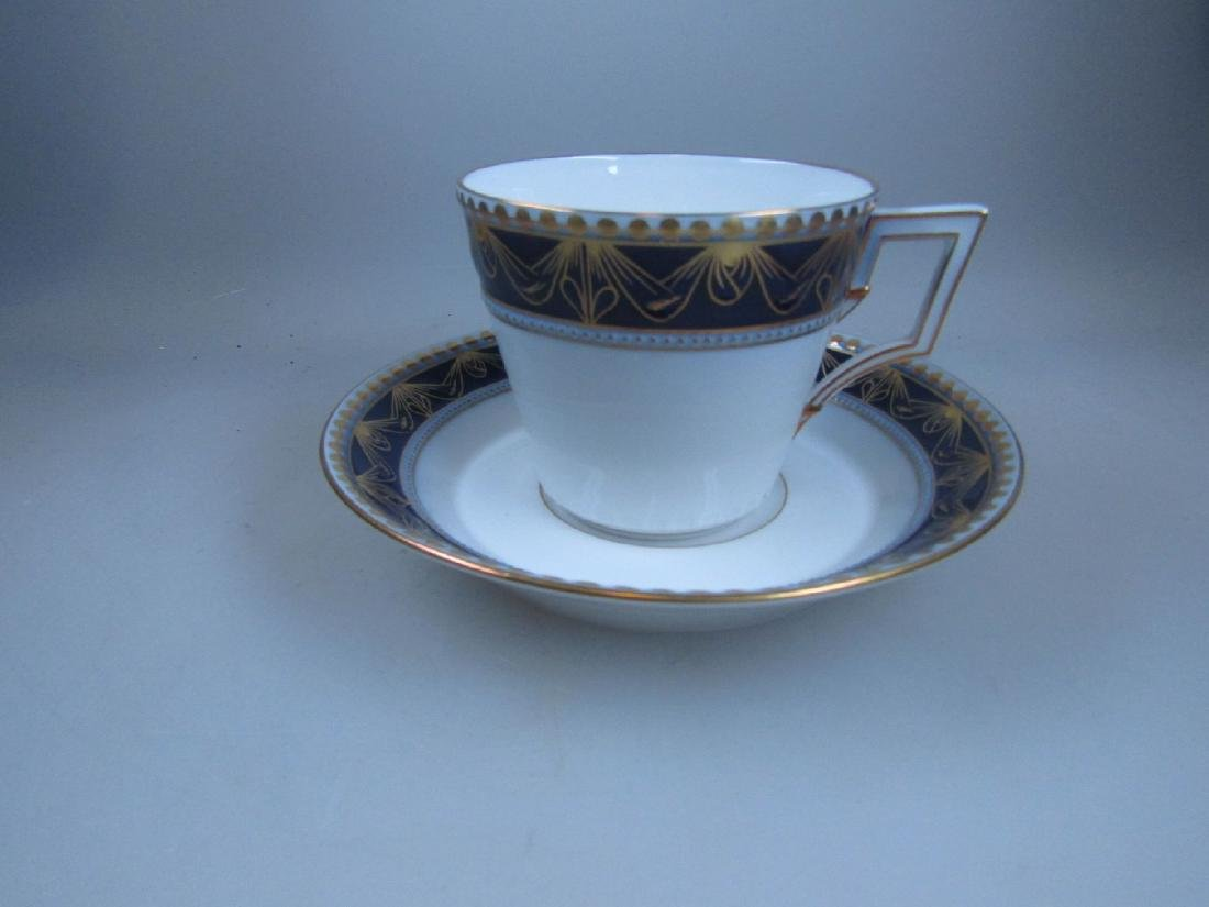 coffee set, Model Kurland, for 4 people, cobalt blue - 5