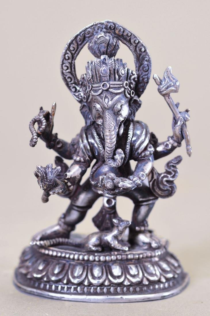 Sculpture of the Ganesha, Tibet, around 1850, high