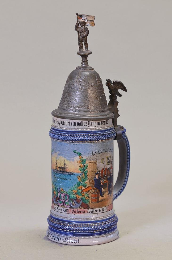 regimental stein navy, office hours at Bord the SMS