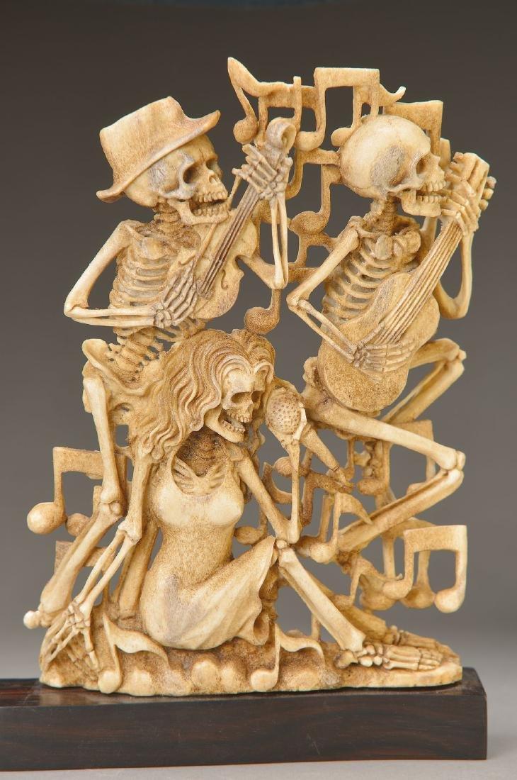 Sculpture of the death dance, of the studio Schiffel