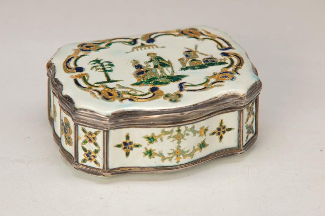 lidded box or Tabatiere, probably Berlin, around