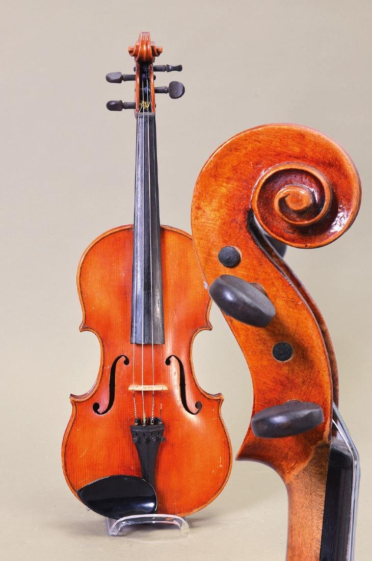 Violin, note: Francesco Lassi Faenza 1949, unseparated