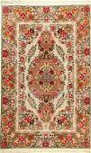'Part-Silk' Tabriz Rug (50 RAJ),