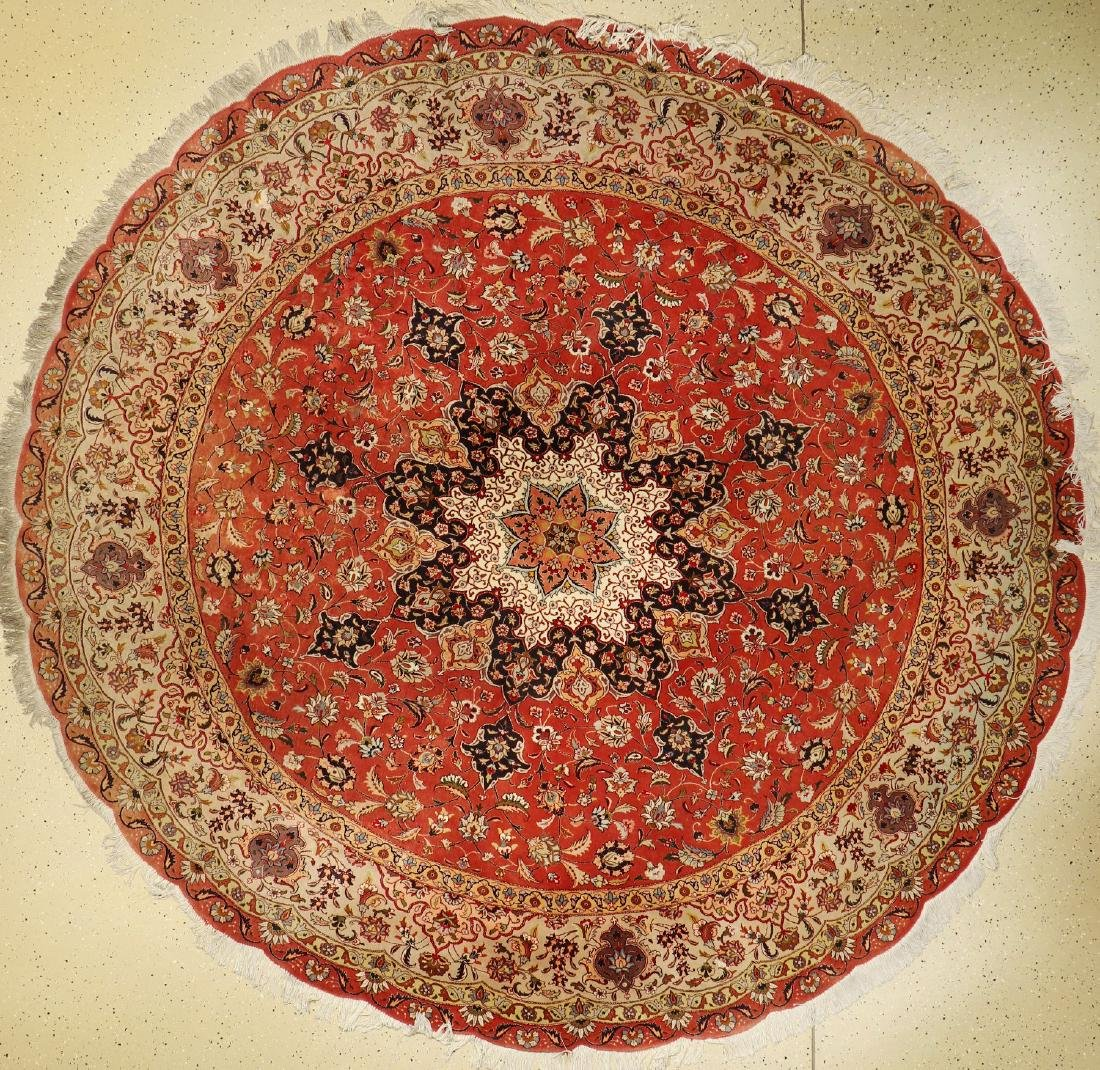 'Part-Silk' Tabriz 'Rug',