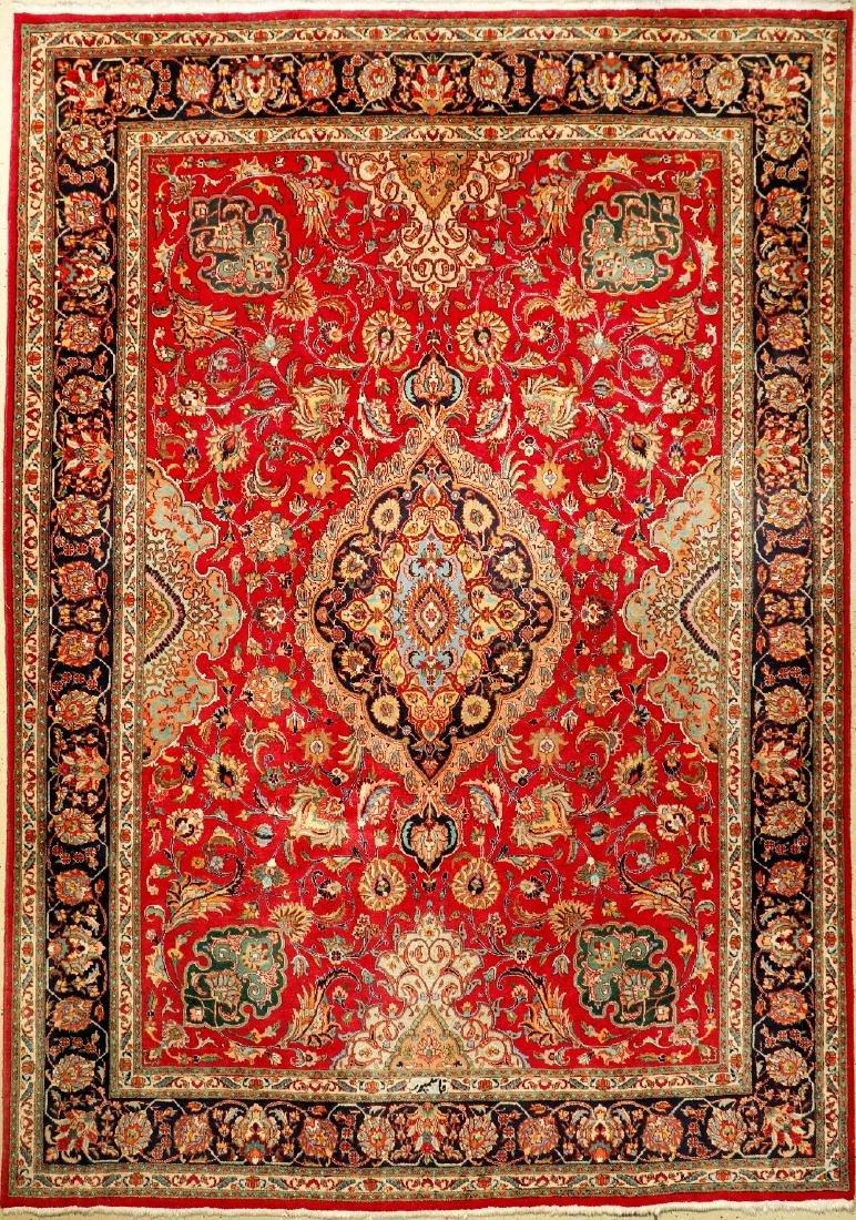 Tabriz 'Ghasempour' Carpet (Signed),