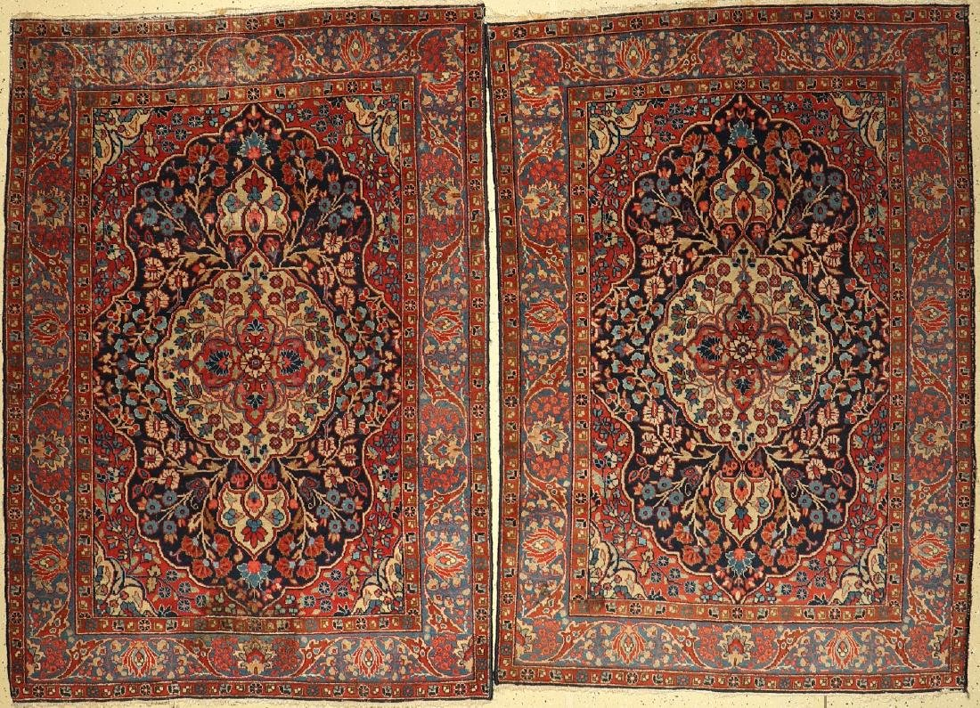 A Pair Of Tabriz Rugs,