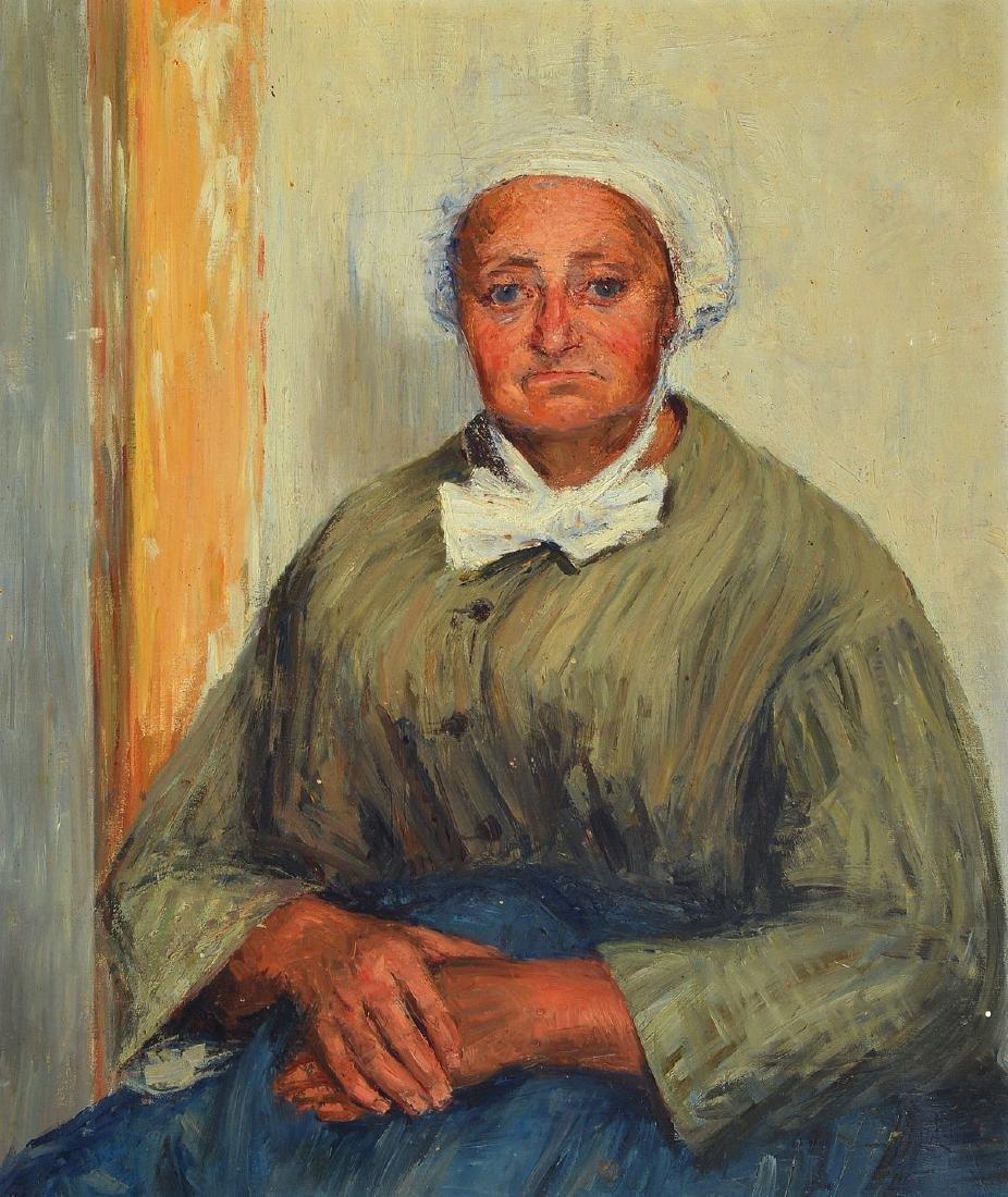 Unidentified artist, 1st half of 20th century,portrait