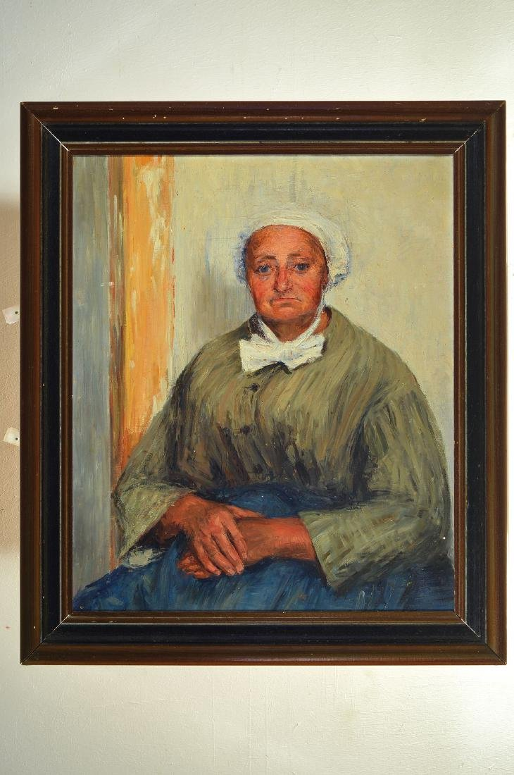 Unidentified artist, 1st half of 20th century,portrait - 2