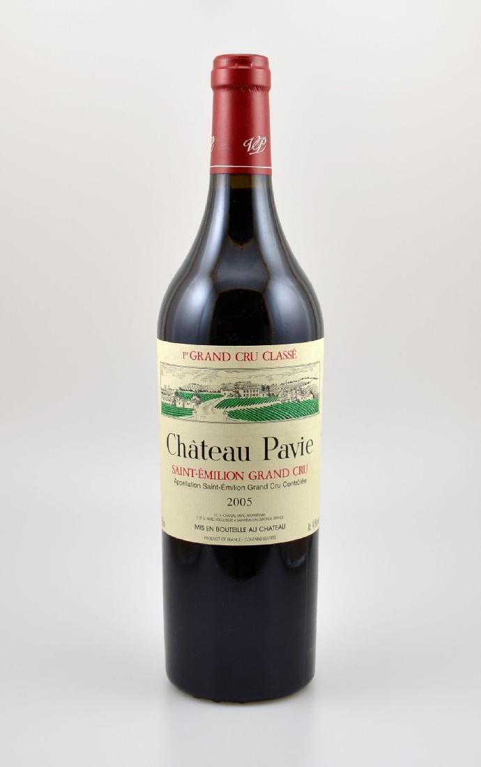 12 bottles of 2005 Chateau Pavie, Saint- Emilion