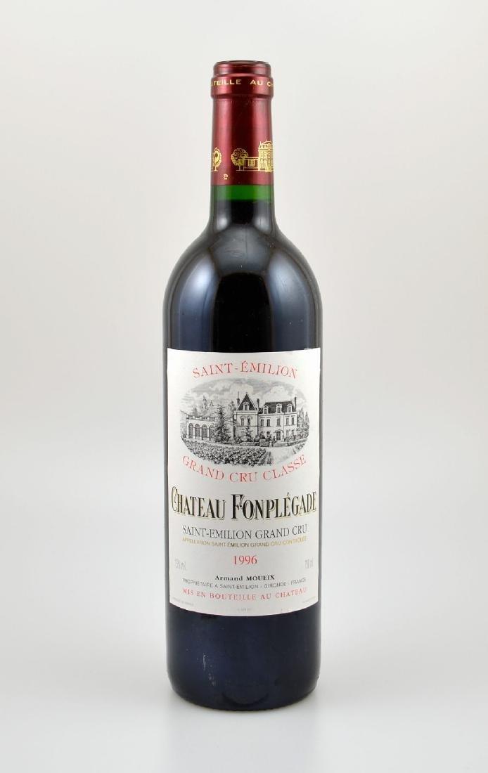 12 bottles of 1996 Chateau Fonplegade, Saint- Emilion