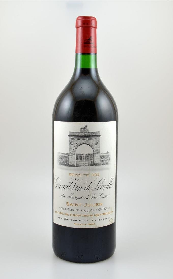 1 magnum bottle 1982 Chateau Leoville-Las Cases, Grand