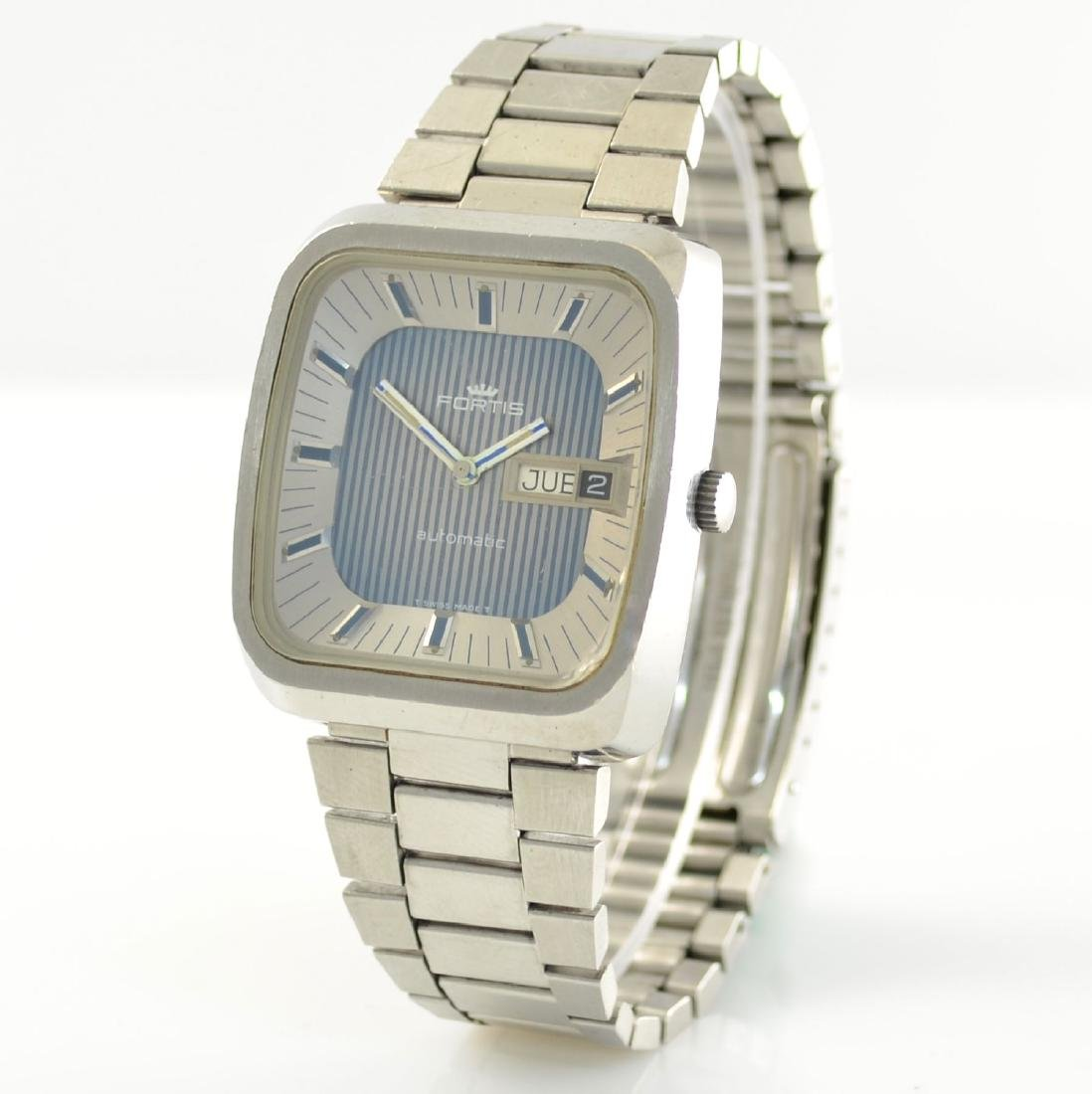 FORTIS gents wristwatch in stainless steel - 4