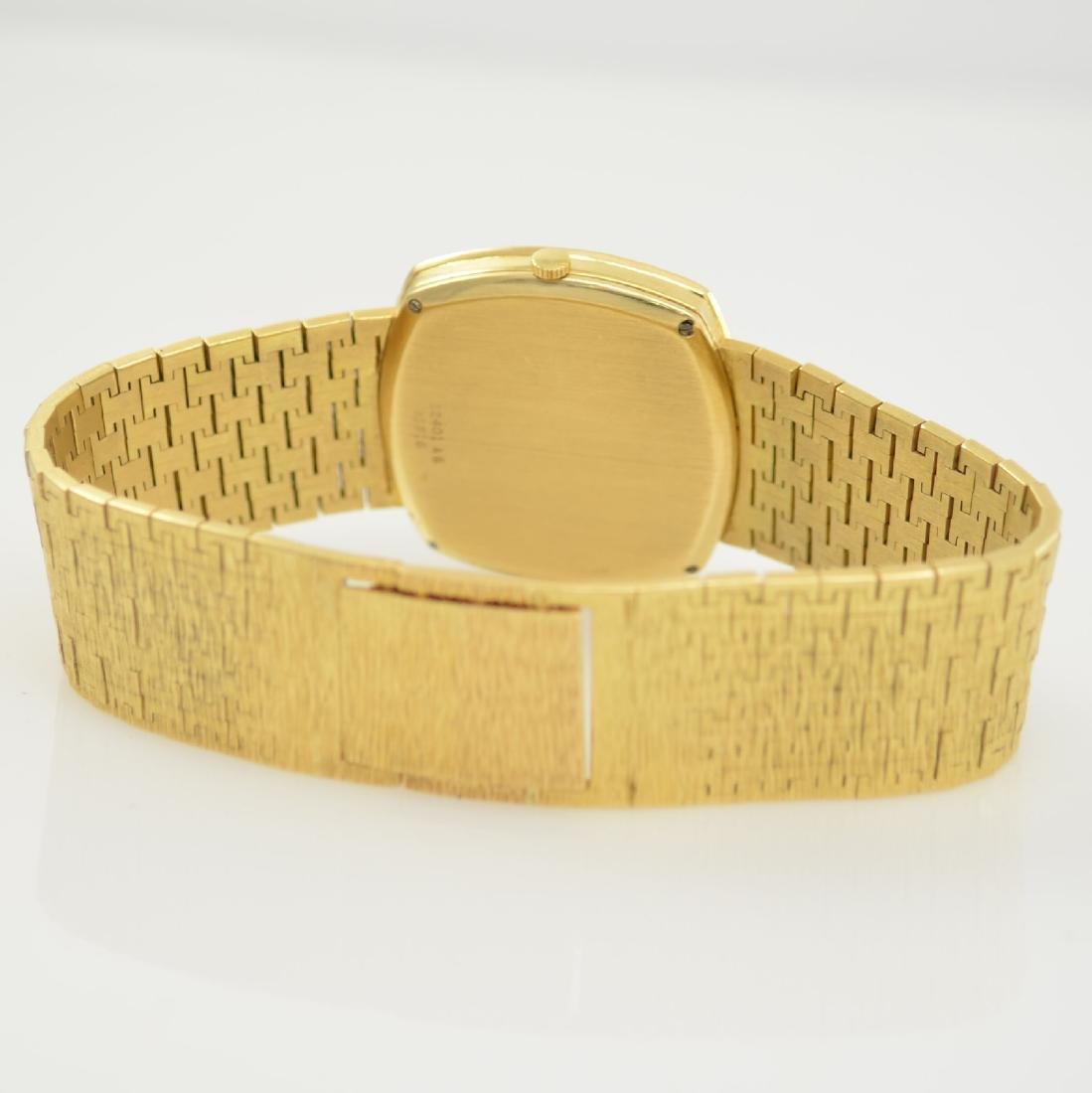 PIAGET 18k yellow gold diamond set gents wristwatch - 6