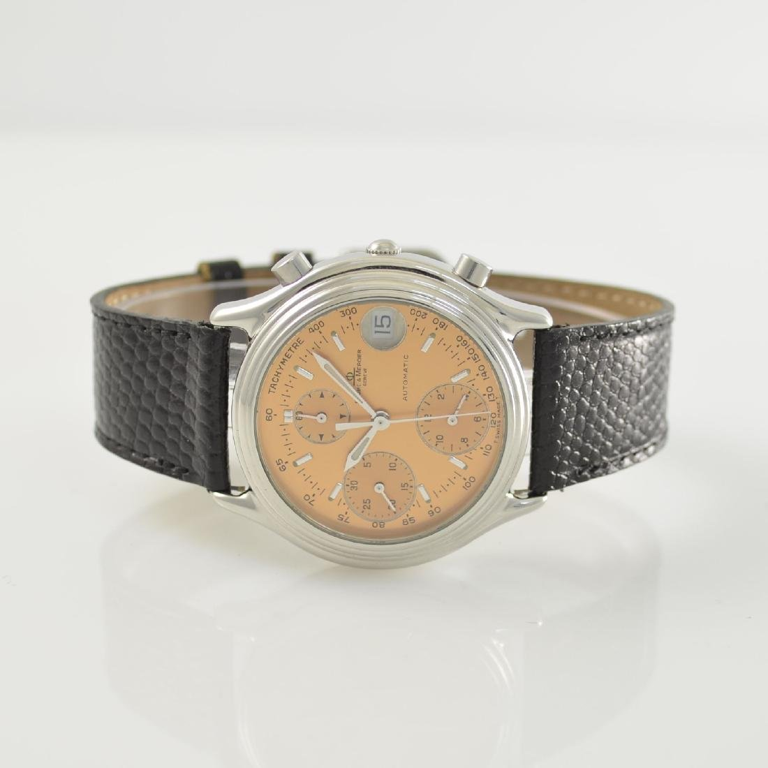 BAUME & MERCIER gents wristwatch with chronograph