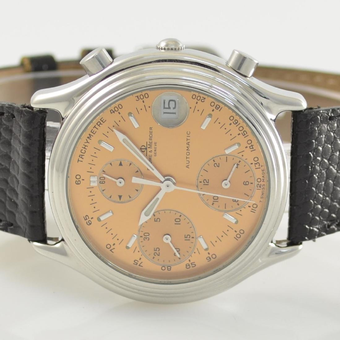 BAUME & MERCIER gents wristwatch with chronograph - 2