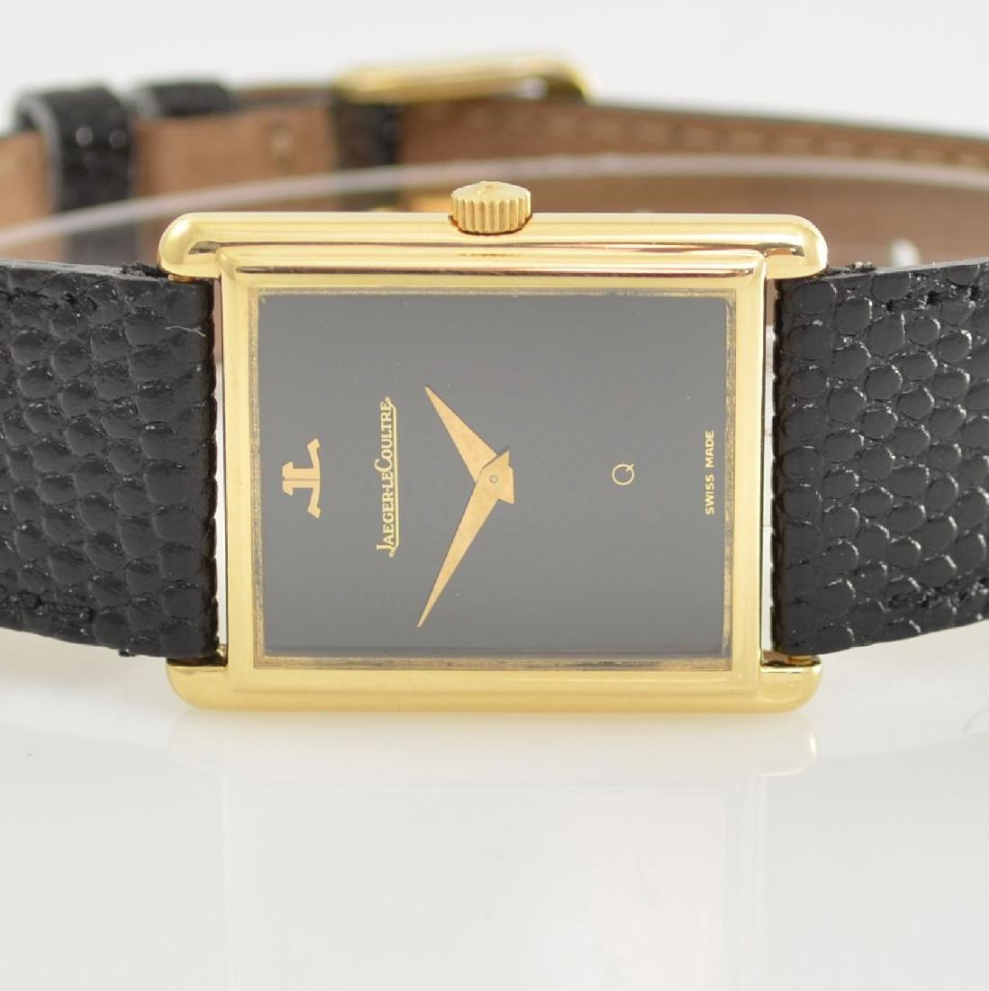 Jaeger-LeCoultre 18k yellow gold wristwatch - 2