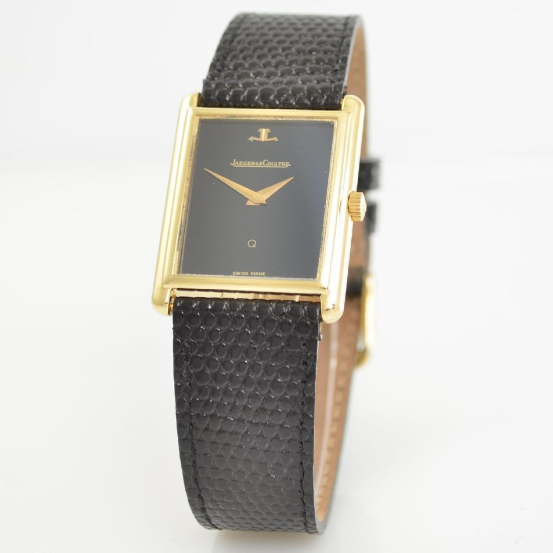 Jaeger-LeCoultre 18k yellow gold wristwatch - 3