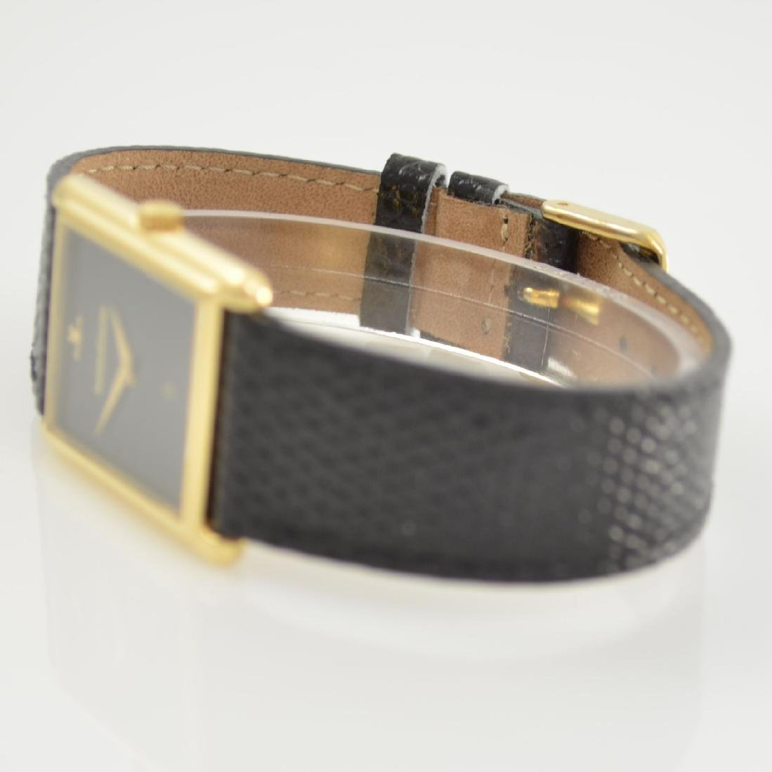 Jaeger-LeCoultre 18k yellow gold wristwatch - 4