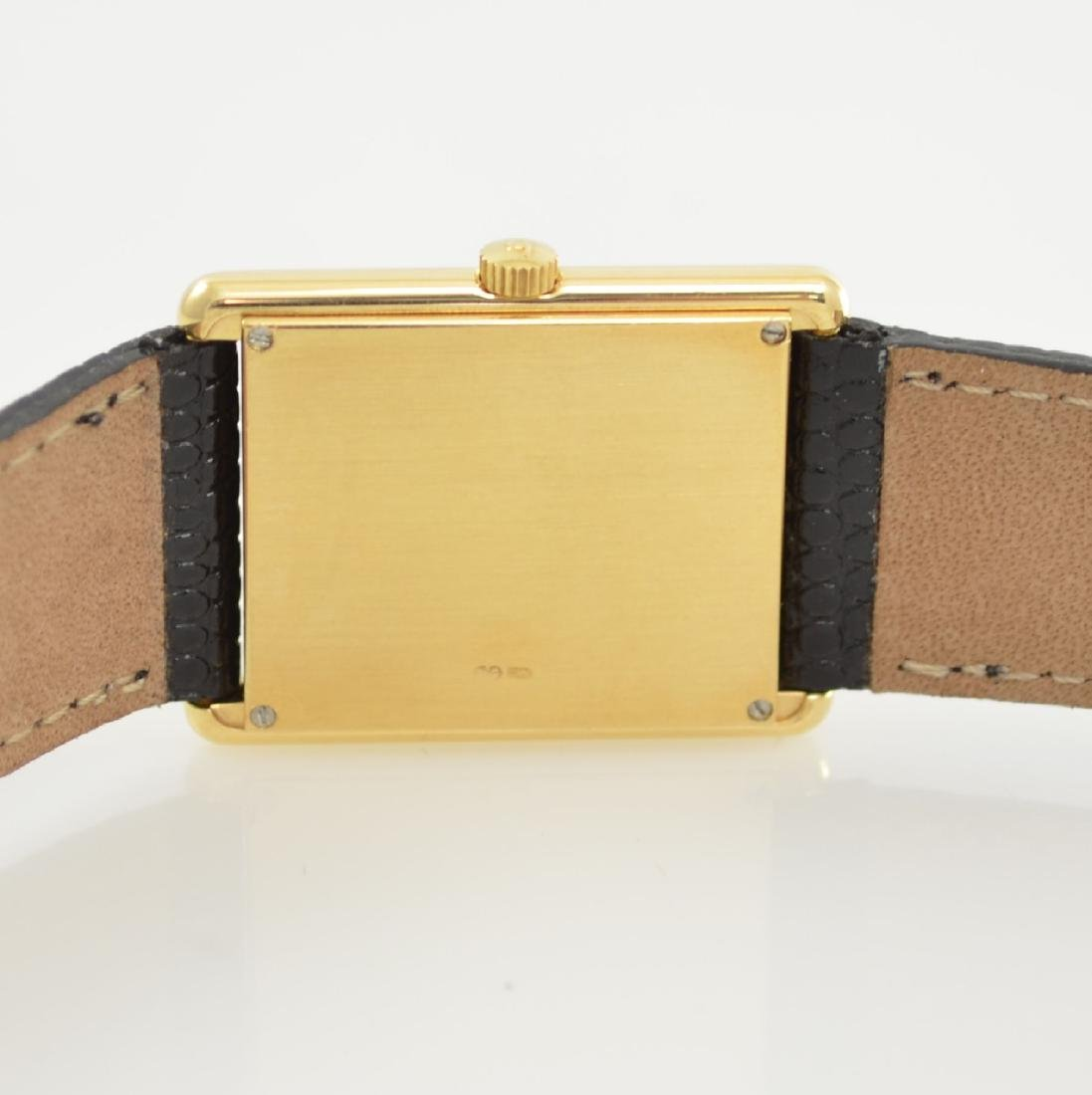 Jaeger-LeCoultre 18k yellow gold wristwatch - 5