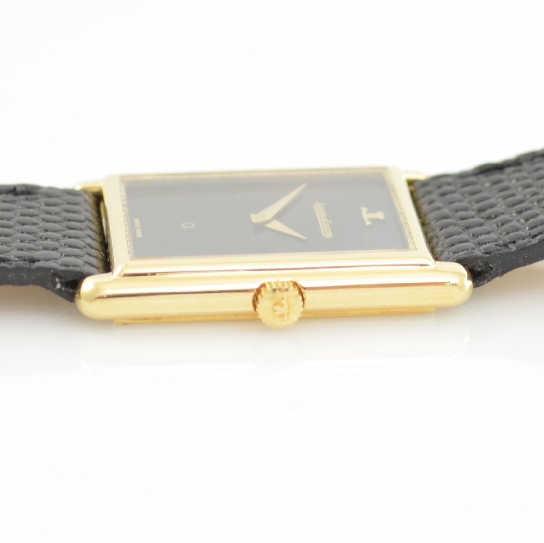 Jaeger-LeCoultre 18k yellow gold wristwatch - 6